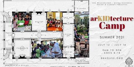 arKIDtecture Summer Camp 2021 tickets