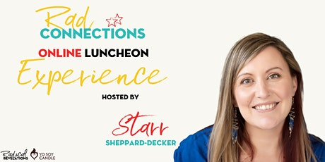 Rad Connections Online Luncheon Experience: Outer Game tickets