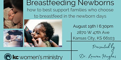 How to best support families who choose to breastfeed in the newborn days tickets
