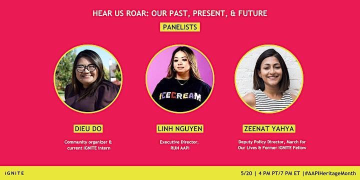 Hear Us Roar: Our Past, Present, & Future image