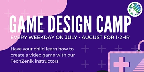 Virtual STEM Camp, Game Design 102 tickets