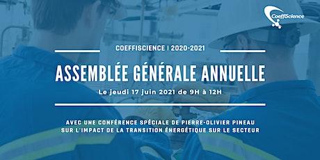 Assemblée générale annuelle 2021 billets