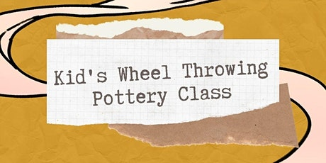 Kid's Wheel Throwing Pottery Class with Alydia Grover tickets