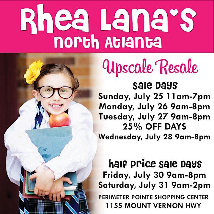 Rhea Lana's of North Atlanta Fall/Back-to-School 2021 Sale image