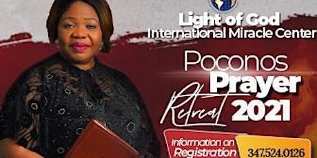 Light of God International Miracle Center POCONOS 2021 tickets