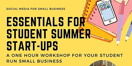 Social Media Marketing For Your Small Business (Student Edition!) tickets