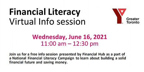 Financial Literacy  Virtual Info session tickets