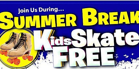 Kids Skate FREE with this Ticket - Sunday, June 20th, 1:00-3:00pm tickets