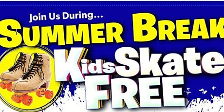 Kids Skate FREE with this Ticket - Sunday, June 27th, 1:00-3:00pm tickets