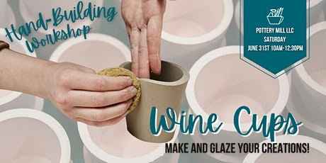 Adult Hand-Building Wine Cups Workshop tickets