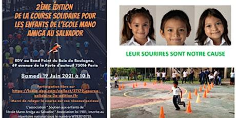 Course solidaire au Bois de Boulogne -19 Juin 2021à 10h00 billets