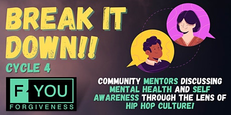 """""""Break it down"""" Mentors Supporting Mentors - Cycle 4 tickets"""