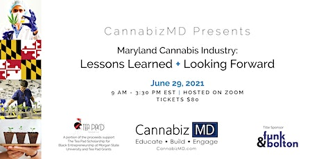 Maryland Cannabis Industry: Lessons Learned + Looking Forward tickets