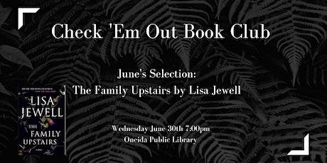 Check 'Em Out Book Club tickets