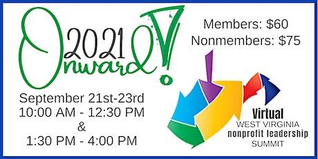 WVNPA 2021 Virtual Nonprofit Leadership Summit - Onward! tickets