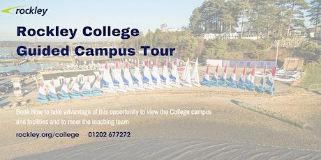 Rockley College Campus Tour 2021 tickets