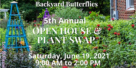 5th Annual Open House & Plant Swap tickets