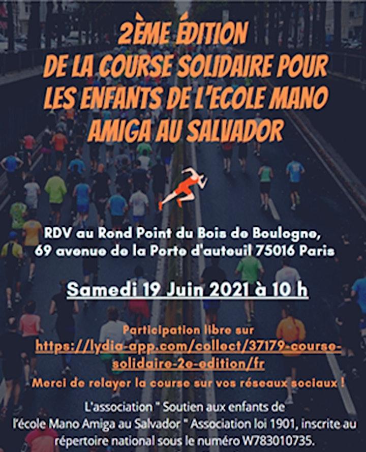 Image pour Course solidaire au Bois de Boulogne -19 Juin 2021à 10h00