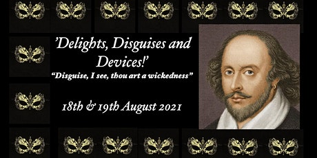 Delights, Disguises & Devices. Mistaken Identity in Shakespeare tickets