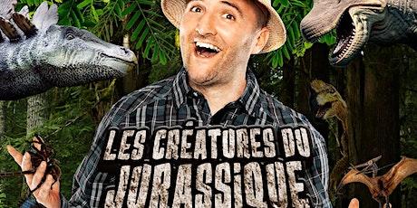 Spectacle «Les créatures du jurassique» (VIRTUEL) tickets