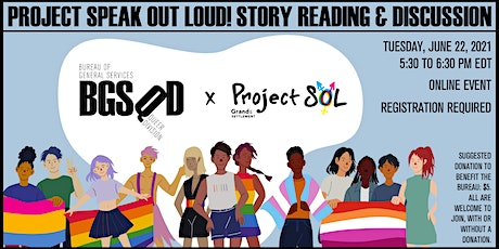 Project Speak Out Loud! Story Reading & Discussion tickets