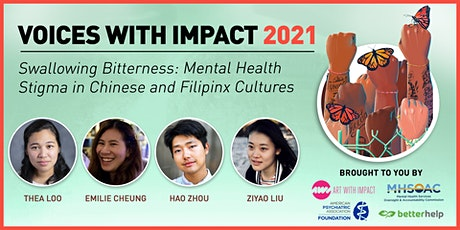 Swallowing Bitterness: Mental Health Stigma in Chinese & Filipinx Cultures tickets