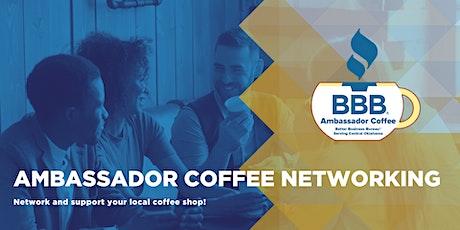 BBB® Ambassador Coffee - Networking tickets