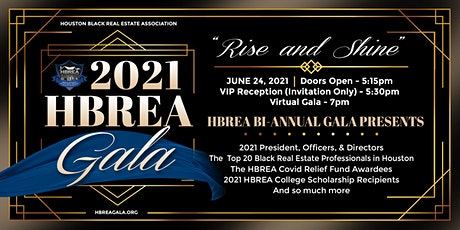 2021 HBREA Gala tickets