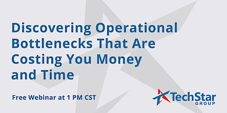 Discovering Operational Bottlenecks That Are Costing You Money and Time tickets
