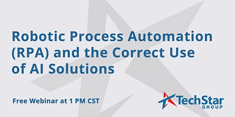 Robotic Process Automation (RPA) and the Correct Use of AI Solutions tickets