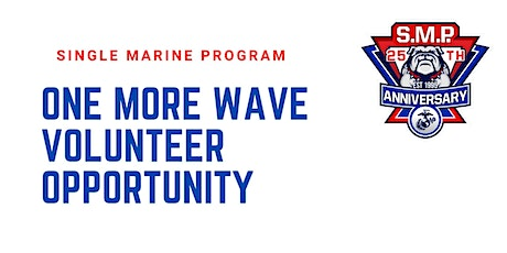 SM&SP One More Wave Volunteer Opportunity tickets