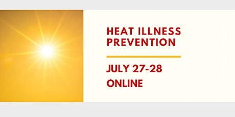 Heat Illness Prevention Webinar tickets