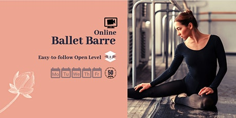Daily Online Ballet Barre for Adults tickets