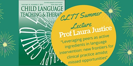 Child Language Teaching and Therapy (SAGE Journals) Summer Lecture 2021 tickets