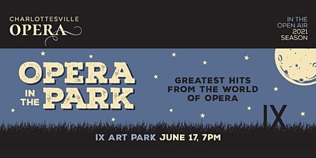 Opera in the Park tickets