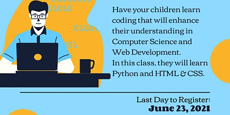 Virtual STEM Camp, Coding  For Kids101 tickets