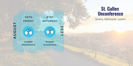 2021 St. Gallen Unconference tickets