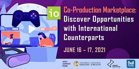 Co-Production Marketplace: Opportunities with Ontario (Canada) Counterparts tickets