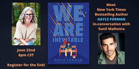 An Evening with Gayle Forman & WE ARE INEVITABLE tickets