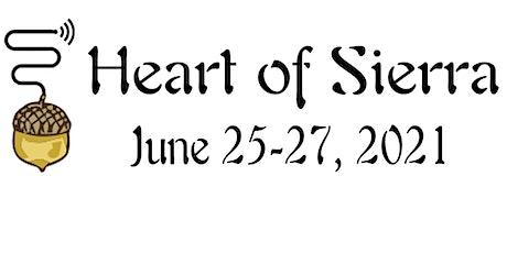 Heart of Sierra Weekend,  June 25-27, 2021 tickets