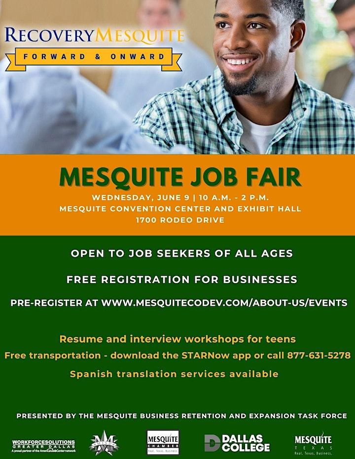 Mesquite Job Fair image