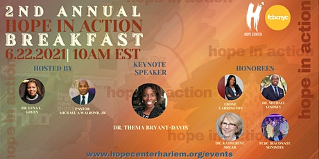 HOPE in Action Awards & Fundraising Breakfast tickets