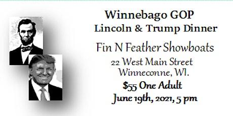 Winnebago GOP Lincoln - Trump Dinner tickets