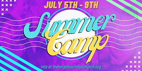 Kids Summer Camp 2021 tickets