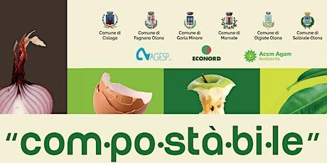 FAGNANO OLONA -2-  COMPOSTAGGIO:  fare il terriccio per orto e giardino biglietti