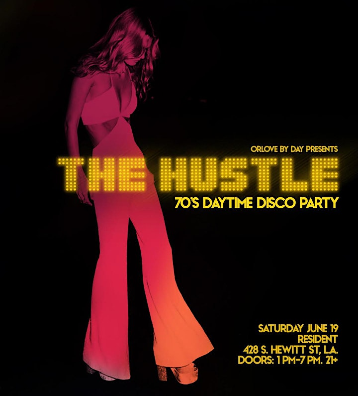 The Hustle: 70's Daytime Disco Party - SOLD OUT image
