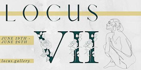 LOCUS: VII - a virtual gallery exhibition tickets