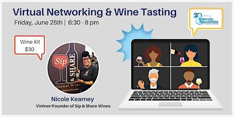 DRTCI Virtual Networking & Wine Tasting tickets