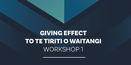 NZSTA Te Tiriti o Waitangi: Part 1 Tikanga Wellington tickets