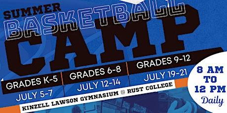 Rust College  Summer Basketball Camp tickets